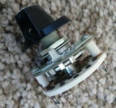 NOS Cessna Rotary Switch, P/N 5018153-1 (A-H&H P/N AH-3-6)- No certs or tags