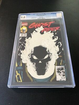 Ghost Rider #v2 #15 CGC 9.8 Glow-In-The -Dark Cover~White Pages