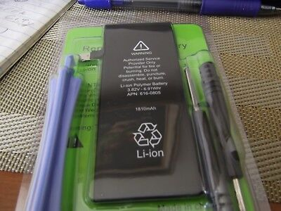 "APPL 1810mAh Li-ion Internal Replacement Battery For Apple iPhone 6 4.7"" + Tools"