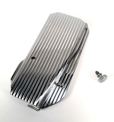 SINGER 221 222 Featherweight Sewing Machine Striated Side Face Plate Cover 45718
