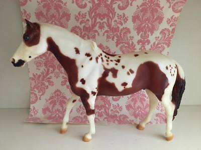 USED Rare Breyer Horse #1199 Great Spirit Bay Tobiano San Domingo Paint Retired