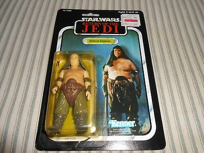 Stars Wars Return Of The Jedi Rancor Keeper Action Figure New Package!!