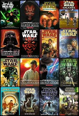 star wars novels collection (Kindle/Pc)