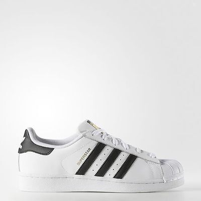New Adidas Women's Originals Superstar Shoes [C77153]  White//black-White