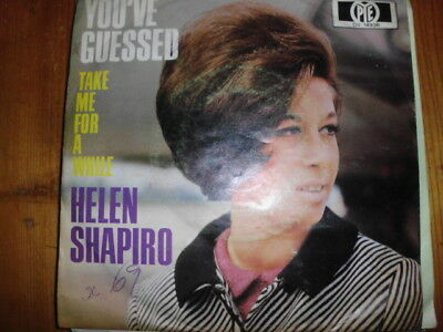 "HELEN SHAPIRO , 7"" You've guessed  PYE DV 14936 VOGUE Take me for a while"