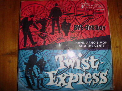 "HANS ARNO SIMON AND THE GENTS , 7"" Twist Express / Bye-Bye Boy SR 19035"