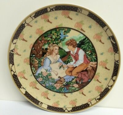 "Heinrich Germany ""ROSES ARE RED"" Once Upon A Rhyme Ltd Ed Plate"