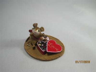 Wee Forest Folk M-477a How Sweet It Is! Valentine Cupid - New in WFF Box