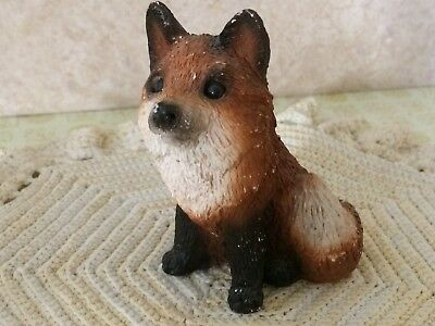 Stone Critters Fox Baby United Design Made in USA  SCB-047