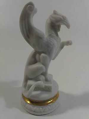 Franklin Mint GRIFFIN White Pawn Chess Set of the Gods Single Pawn only