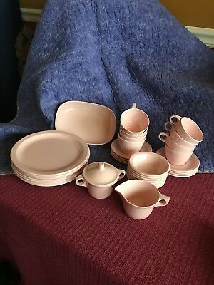 Vintage Texas-Ware Pink Service for 8