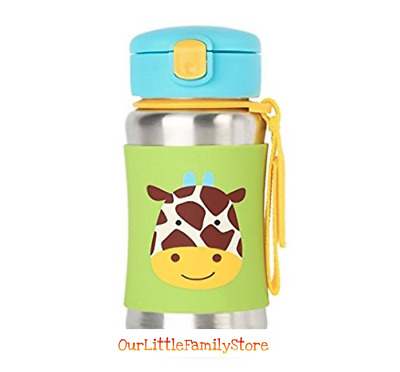 Skip Hop Baby Zoo Little Kid and Toddler Feeding Travel-To-Go Insulated Stainles