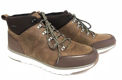 f13f465022e UGG AUSTRALIA OLIVERT Men's Lace Up Ankle Boot Shoe Waterproof Grizzly  1017275