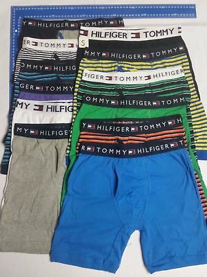 One MENS TOMMY HILFIGER COTTON BOXER BRIEF TRUNK  GUY FRONT VERY LOOSE Fit !!!