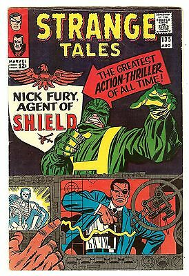 Strange Tales 135   Origin & 1st Nick Fury Agent of Shield