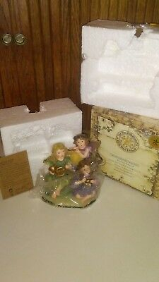 The Wee Folkstones Boyds Bears & Friends Faeries, Elves, Angels, Fairy Mint