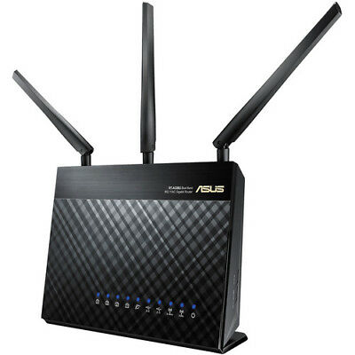 Asus Ethernet 3G 4G Wireless Router RT-AC68U Dual Band AC1900 Gigabit