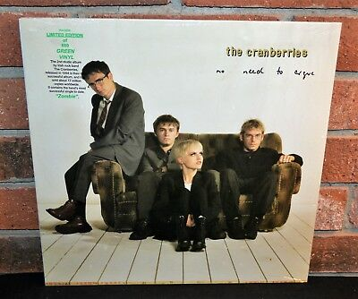 THE CRANBERRIES - No Need to Argue, Ltd/660 180G GREEN COLOR VINYL Gatefold OOP!