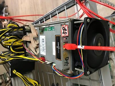 USED Bitmain Antminer S7 BitCoin & BCC ASIC Miner 4.73TH/S