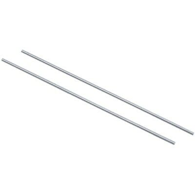 20x Steel Rod Bar Round Stock Lathe Tools 1.5mm Dia 100mm Length Silver J9W5