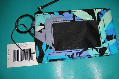 """Vera Bradley  Zip Id Case """"camofloral"""" Retired Pattern  New With Tags! $14"""