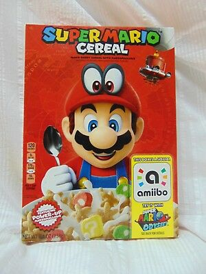 SUPER MARIO CEREAL with amiibo Super Mario Odyssey by Nintendo **Ready To Ship**