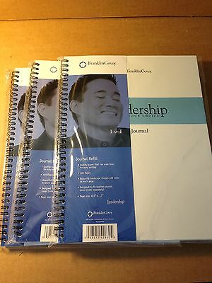 "(3) FRANKLIN COVEY JOURNAL REFILLS (NEW) 8 1/2"" x 11"""
