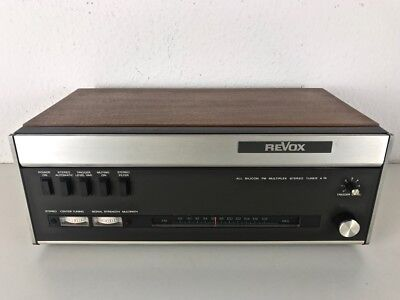 "Revox A76 MKII Tuner ""NOT TESTED"""