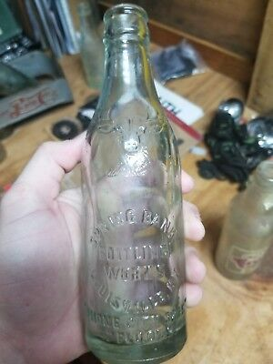 Kentucky bottle Springbank bottling works Antique bottle ky bottle old bottle