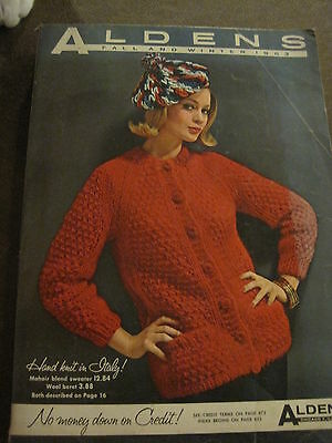 Vintage Aldens 1963 Fall & Winter Catalog Fashions Housewares 870 Pages