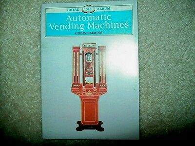 """Book - """"Automatic Vending Machines"""" by Colin Emmins (1995)"""