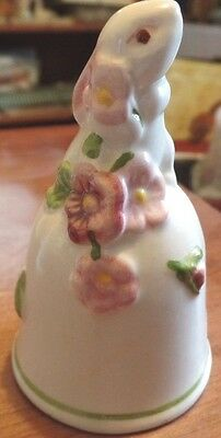 1984 Avon Ceramic Bunny/Rabbit Bell #757