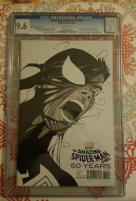 Amazing Spider-Man #692 1980's Variant Cover CGC 9.6 HARD TO FIND!!