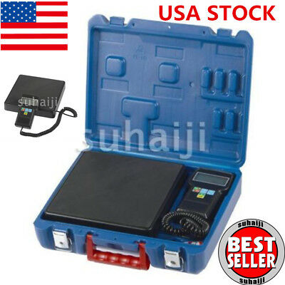 220lb Digital HVAC Refrigerant Charging Weighing Weight Electronic Scale USA