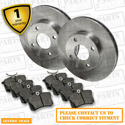 Renault Laguna 3.0 dCi Front Brake Discs Pads 320mm & Rear Pads 232 09/08- Coupe