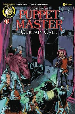 Puppet Master Curtain Call #3 (MR) Variant Covers FC 32 pgs