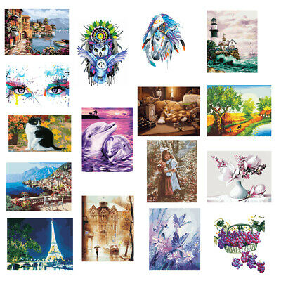 DIY Paint By Numbers Kit Canvas Oil Painting Artwork Hand Painted Picture