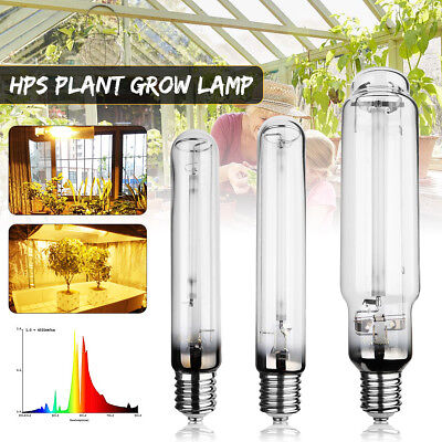HPS High Pressure Sodium Lamp Bulb Hydroponic Plant Grow Light Indoor Garden