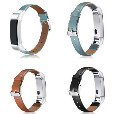 Luxury Leather Replacement Wrist Band Strap Bracelet For Fitbit Alta HR Watch UB
