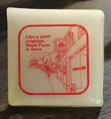 Collectible State Farm Insurance Good Neighbor Night Light Vintage Works