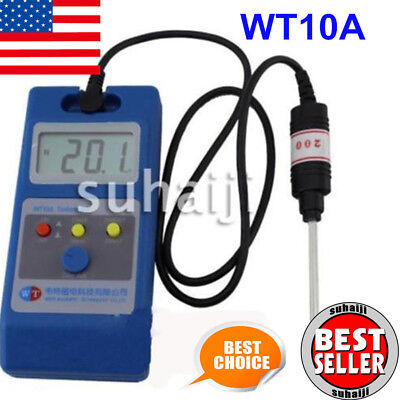 WT10A LCD Tesla Meter Gaussmeter Surface Magnetic Field Tester USA