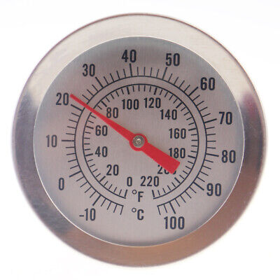 Home Brew Thermometer Dial 300Mm Probe Wine & Beer Brewing Temperatures In-060