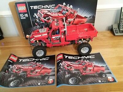 lego technic pickup truck instructions