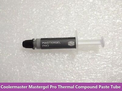 Coolermaster Mastergel Pro Thermal Compound Paste Tube Original OEM 2-3 Times