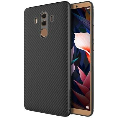 NILLKIN Synthetic Fiber Hard Case Cover for Huawei Mate 10 Pro (with Iron Sheet)