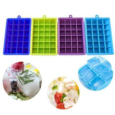 15-Cavity Large Cube Ice Pudding Jelly Soap Maker Mold Mould Tray Silicone