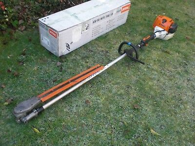 Stihl HL100 Model Long Reach Petrol Hedge Trimmer Cutter HL95 No Reserve