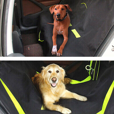 Dog Car Rear Back Seat Waterproof Durable Cover Protector Pet Boot Mat Hammock