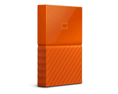 WD Western Digital My Passport 3 TB 2,5 Zoll USB 3.0 externe Festplatte Orange