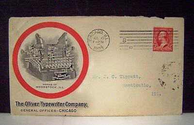 The Oliver Typewriter Company 1903 Ad Cover